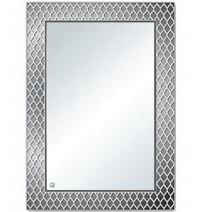 Gương phòng tắm tráng bạc ròng QB-Q102 Kích thước : 60×80 cm Chất liệu : Gương phôi Mỹ , tráng bạc ròng bảo vệ 8 lớp.